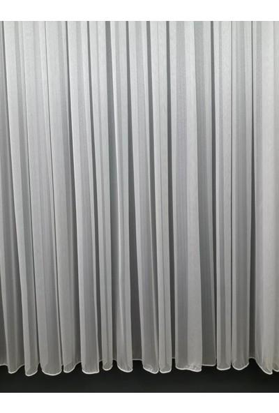 DNZ Ev Gereçleri Damla Desen Modern Tül Perde 1/2.5 Pileli