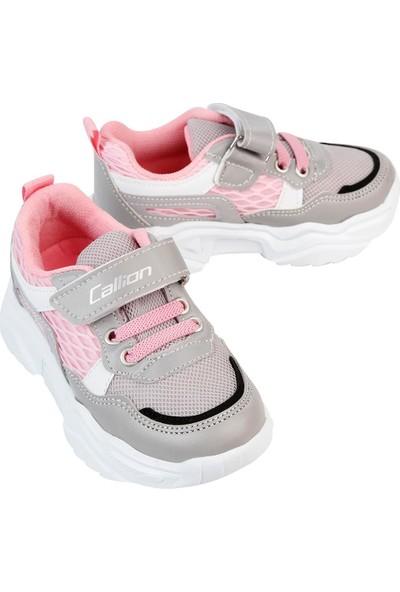 Callion Kız Çocuk Spor Ayakkabı 22-25 Numara Gri