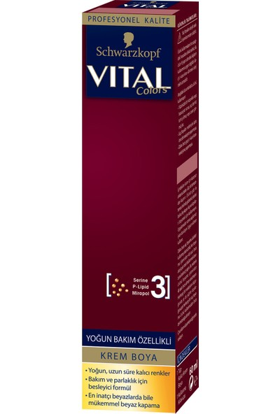 Schwarzkopf Vital Colors Krem Saç Boyası 12-00 Çok Açık Sarı - 60 ml