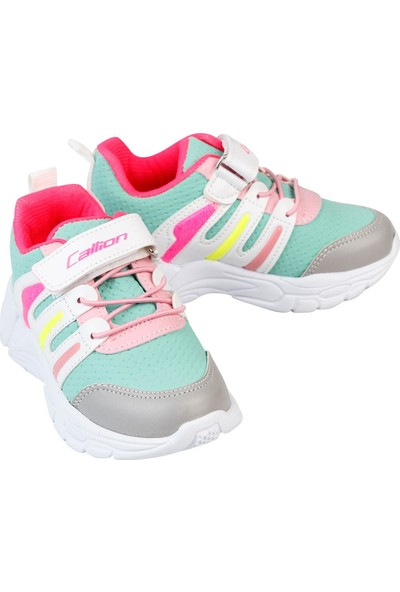 Callion Kız Çocuk Spor Ayakkabı 26-30 Numara Su Yeşili