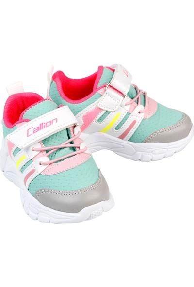 Callion Kız Çocuk Spor Ayakkabı 22-25 Numara Su Yeşili