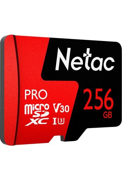 Netac 256GB Pro Micro SDXC Tf Hafıza Kartı Veri Depolama (Yurt Dışından)