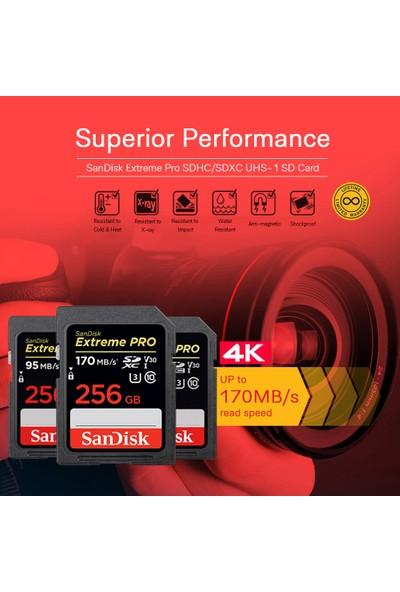 Sandisk Extreme Pro SDXC Uhs-1 256 (Yurt Dışından)