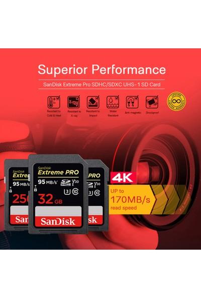 Sandisk Extreme Pro SDhc 32 GB SD (Yurt Dışından)