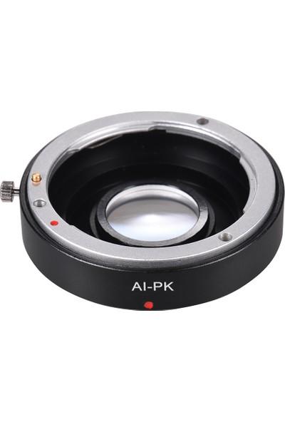 Buyfun Ai-Pk Optik Cam Lens Montaj Adaptörü ile Düzeltici (Yurt Dışından)