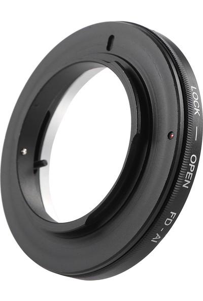 Buyfun Canon Fd Lens İçin Fd-Ai Adaptör Halkası Lens Yuvası (Yurt Dışından)