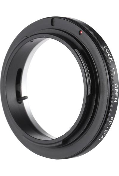 Buyfun Canon Fd Lens İçin Fd-Eos Adaptör Halkalı Lens Yuvası (Yurt Dışından)