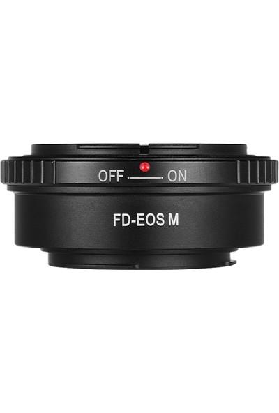 Buyfun Canon İçin Fd-Eos M Lens Montaj Adaptörü Halkası Fd (Yurt Dışından)