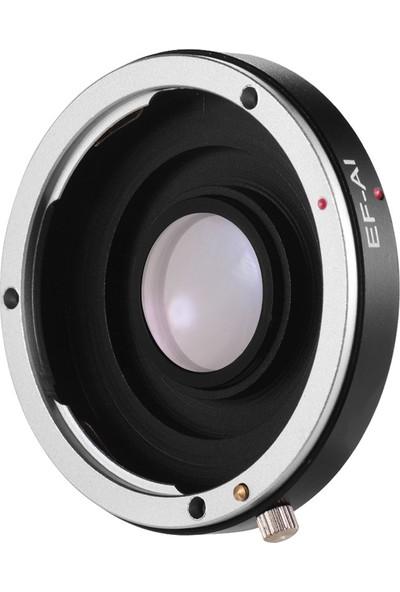 Buyfun Ef-Ai Lens Adaptör Halkası Manuel Odak Canon Ef Ef-S (Yurt Dışından)