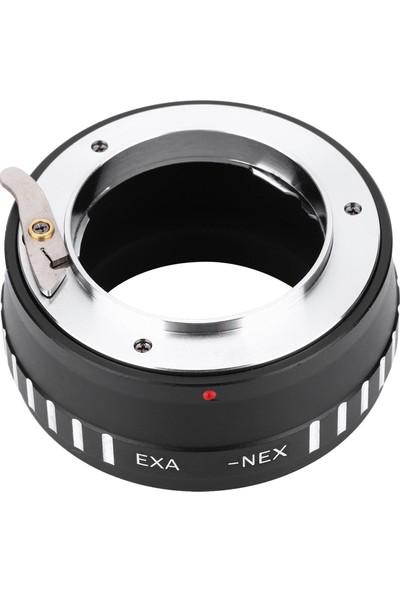 Buyfun Exa-Nex Metal Lens Montaj Adaptörü Halkası Manuel Odak (Yurt Dışından)
