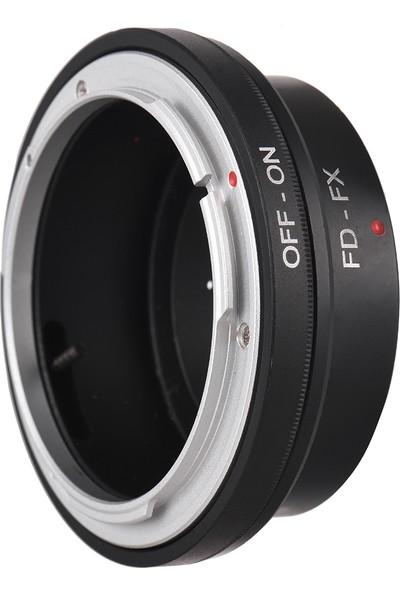 Buyfun Fd-Fx Lens Montaj Adaptörü Halkası İçin Canon Fd Montaj (Yurt Dışından)