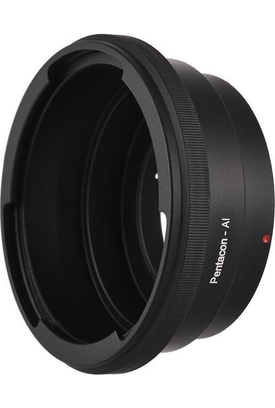 Buyfun Lens Montaj Adaptörü Pentacon 6 Kiev 60 Lens İçin Fit (Yurt Dışından)