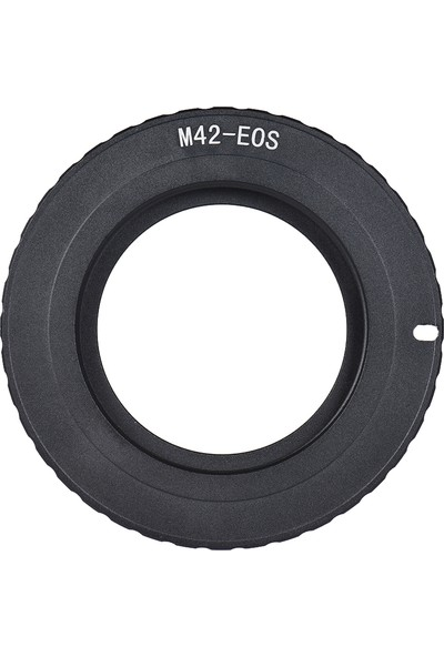 Buyfun M42-EOS Kamera Lens Dağı Adpter Yüzük M42 Lens İçin (Yurt Dışından)