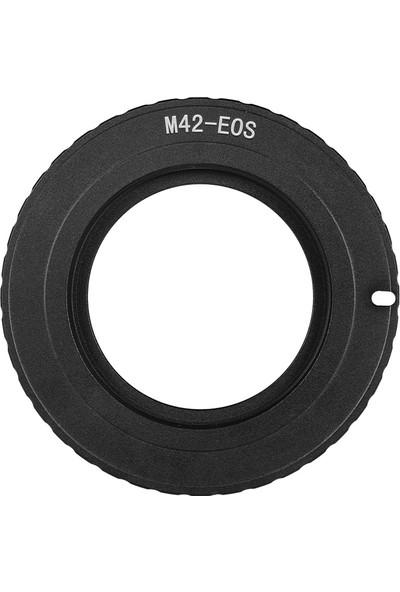 Buyfun M42-EOS Lens Montaj Adaptörü Halkası M42 Lens İçin (Yurt Dışından)