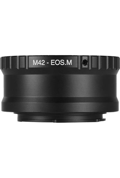 Buyfun M42-EOS M M42 Lens İçin Lens Montaj Adaptörü Halkası (Yurt Dışından)