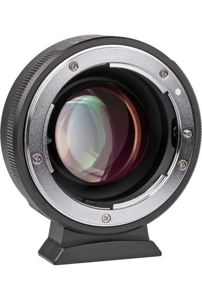 Viltrox NF-M43X 0.71X Lens Yuvası Adaptör Halkası Odak (Yurt Dışından)