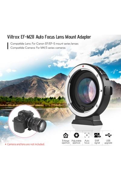Viltrox EF-M2II Otomatik Odaklama Lens Montaj Adaptörü (Yurt Dışından)