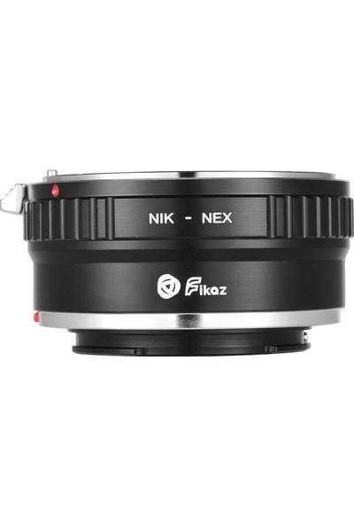 Fikaz Nık-Nex Lens Montaj Adaptör Halkası Alüminyum (Yurt Dışından)