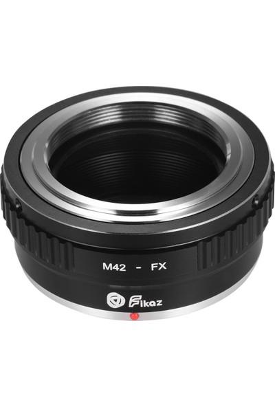 Fikaz M42-FX Lens Montaj Adaptörü Halkası Alüminyum (Yurt Dışından)
