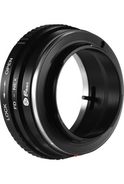 Fikaz Fd-Nex Lens Montaj Adaptörü Yüzük Alüminyum Alaşım (Yurt Dışından)