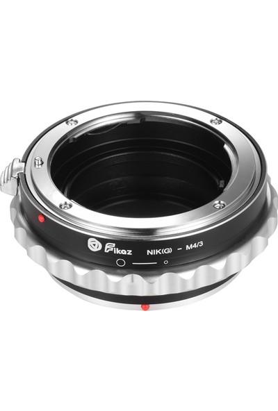Fikaz Nikon (G) -M4 / 3 Lens Montaj Adaptörü Halkası (Yurt Dışından)