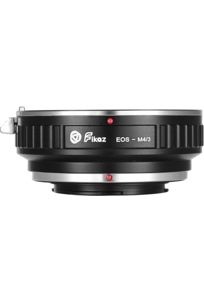 Fikaz Eos-M4 / 3 Lens Montaj Adaptörü Halkası Alüminyum (Yurt Dışından)