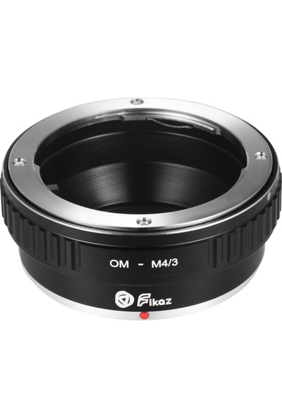 Fikaz Om-M4 / 3 Lens Montaj Adaptörü Yüzük Alüminyum (Yurt Dışından)