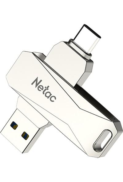 Netac U782C 64 GB Tip-C + USB Çift Arabirim Flash Sürücü (Yurt Dışından)