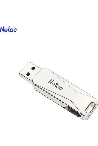 Netac U381 32 GB Mikro USB + USB Çift Arabirim Flash (Yurt Dışından)