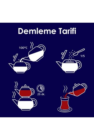 Karali Çay Karadeniz Filiz Dökme Çay 1 kg x 3'lü