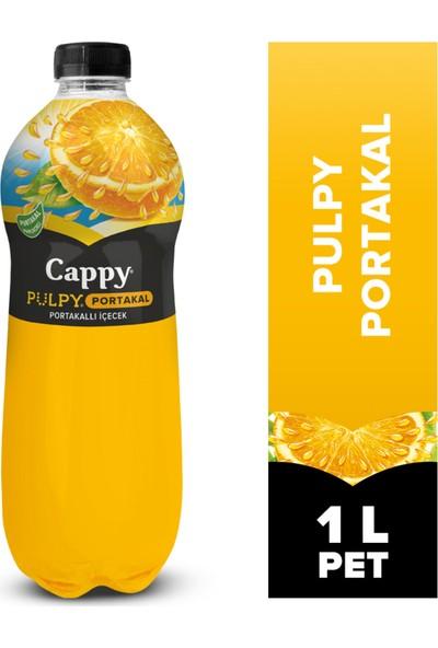 Cappy Pulpy Portakal 1 Lt x 12'li