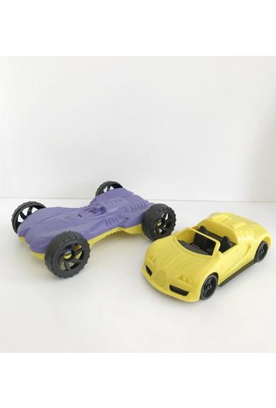 Evimsan 2'li Oyuncak Set Araba Set + Oyuncak Araba