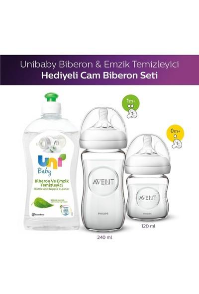 Philips Avent Natural Cam Biberon 2'li Set + Biberon Temizleyici 500 ml