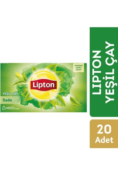Lipton Bardak Poşet Yeşil Çay Sade 20'Li