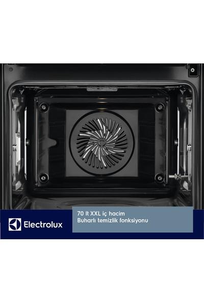 Electrolux EOB7S31Z SteamBoost Buharlı Multifonksiyonel Siyah Cam Fırın
