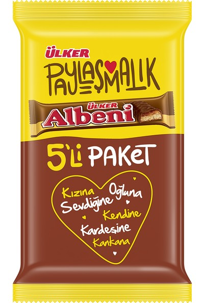 Ülker Albeni 5x36 gr