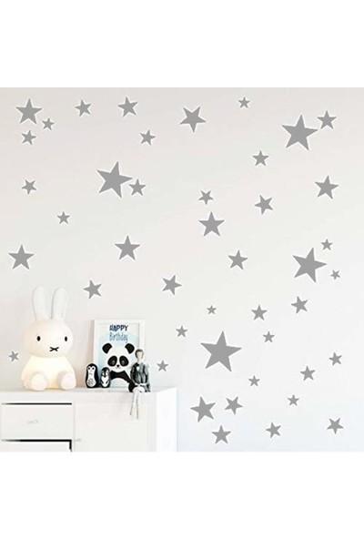 Hediyepostası Yıldız Duvar Sticker 3-4-5 cm 100 Adet