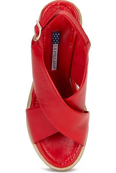 U.S. Polo Assn. Kadın Kırmızı Ayakkabı 50222108-VR030
