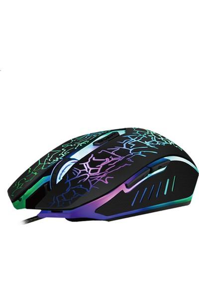 Katsuta GM-7009 Fuego LED Işıklı Gaming Oyuncu Mouse
