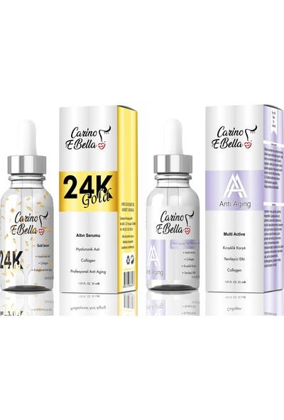 24k Gold Serum - Yaşlanma ve Kırışıklık Karşıtı Serum 30 ml