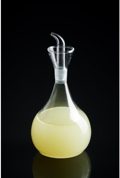 Acar Pita Yuvarlak Cam Yağdanlık - 500 ml