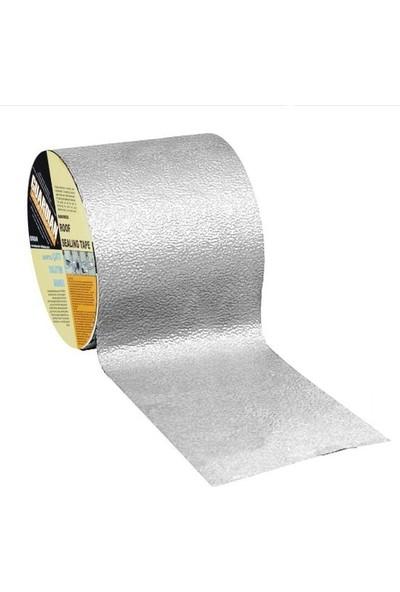 Guard Guardian Takviyeli Ziftli Çatı Yalıtım Bandı Mahya Baca 15 cm x 10 Metre-Alüminyum