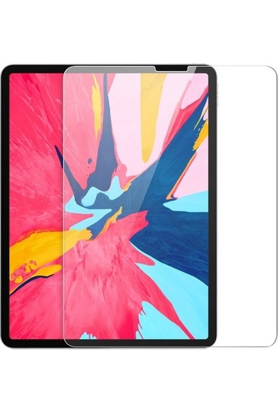 Fujimax Apple iPad Air 4. Nesil 10.9 Inç 2020 A2324/25/26 A2472 Seri 9h Temperli Ekran Koruyucu- 1 Adet Şeffaf