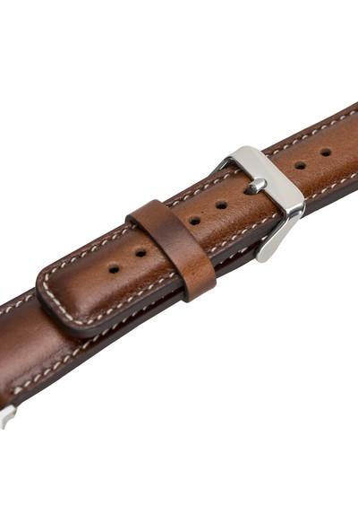 Bull Cover Apple Watch Deri Kordon 38-40MM RST2EF/SM3 Silver