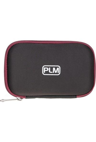 Plm Pocket Hard Disk Kılıfı Siyah-Bordo