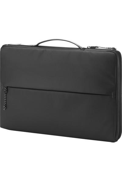 """HP 15.6"""" Üstten Kulplu Yandan Fermuarlı İnce Spor Notebook Çantası - 14V33AA"""