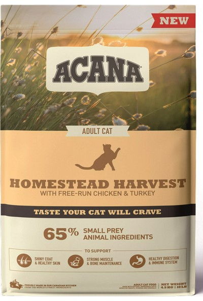 Acana Homestead Harvest Kedi Maması 4.5 kg