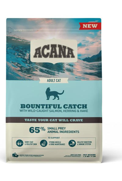 Acana Bountiful Catch Kedi Maması 1.8 kg