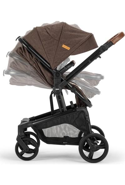 Baby2go Motti Travel Sistem Bebek Arabası Kahverengi