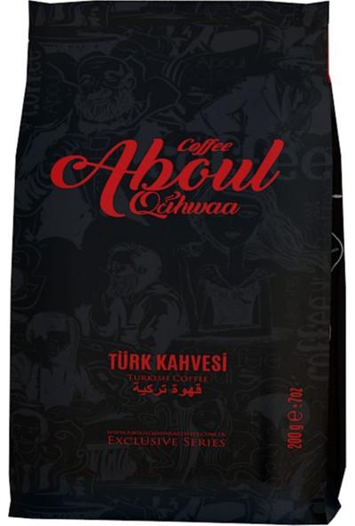 Aboul Qahwaa Blok Bottum Türk Kahvesi 200 gr